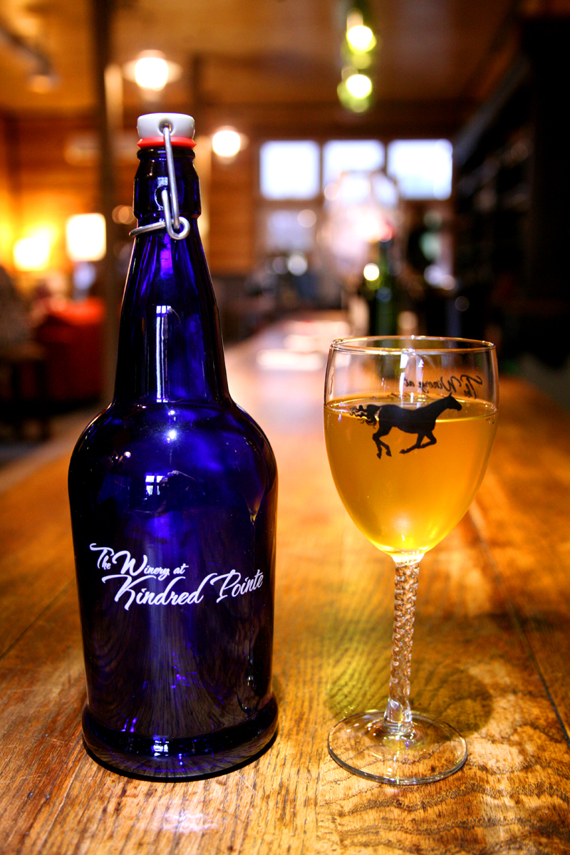 Cider Growler and Glass